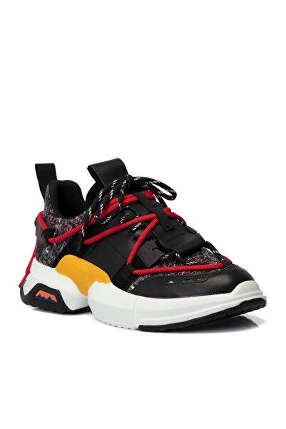 Tergan Siyah Vegan Kadın Ayakkabı 65018ı46