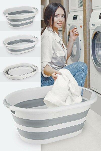 IRAK PLASTİK Katlanır Çamaşır Selesi 40 lt