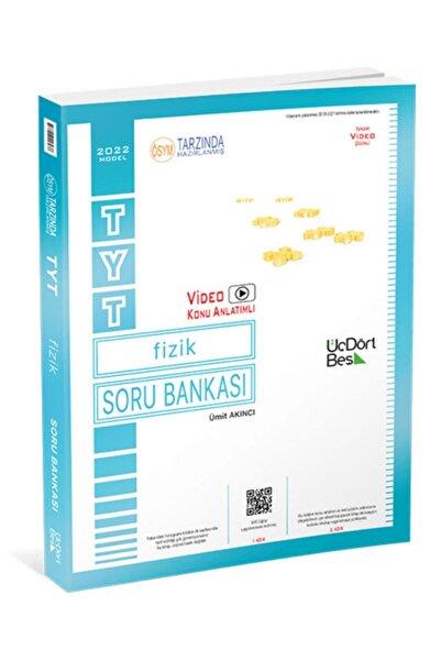 Üç Dört Beş Yayıncılık 345 Yayınları Tyt Fizik Soru Bankası 2022