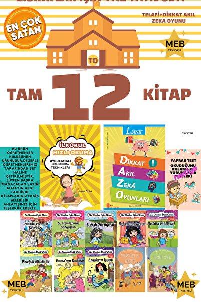 Erdem Yayınları 1. Sınıf Öğrencileri Için Okumayu Hızlandıran Iş Bank Tudem Tonguç Öğretmen Evde Kırmızı Beyaz