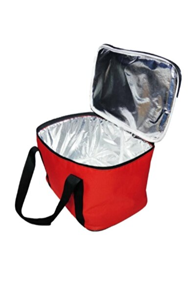 ezivahome Kırmızı Ve Mavi Ve Siyah 27 Litre Sıcak Soğuk Tutucu Kamp Piknik Termos Buzluk Çanta
