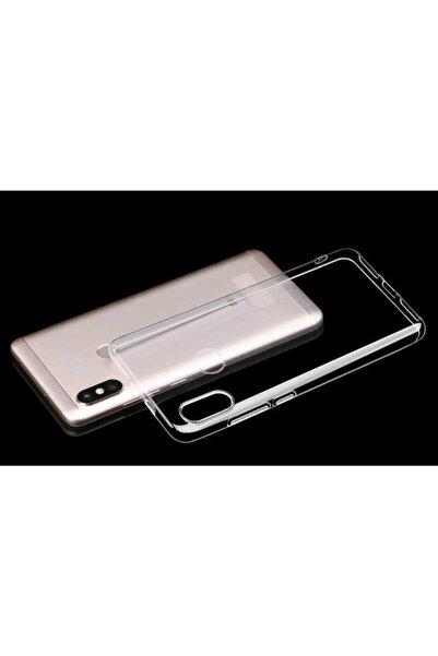 Xiaomi Mi A2 Lite Kılıf Ultra Ince (0.2 Mm Incelik) Şeffaf Silikon