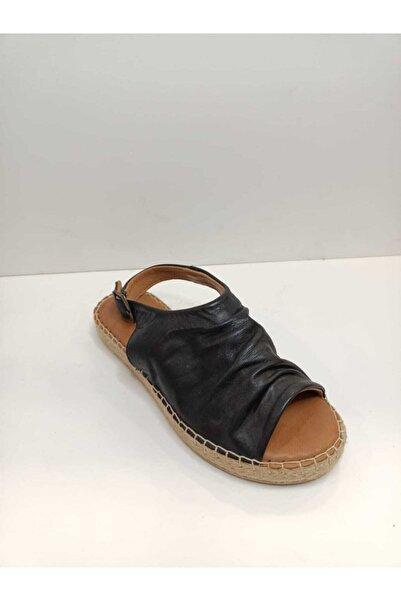 Gloria Kadın Siyah Sandalet Ayakkabı