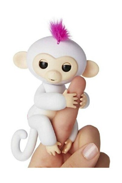 CAN OYUNCAK Beyaz Fingerlings Interaktif Parmak Maymun
