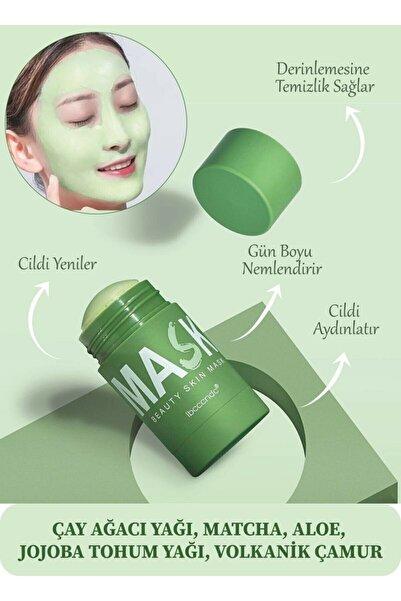 REDLİP COSMETİC Green Stick Maske Yeşil Çay Özlü Siyah Nokta Maskesi Sivilce Maskesi