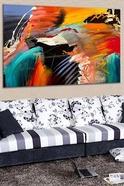Talya Tablo Modern Renkli Soyut Kanvas Tablolar Oturma Odası Salon Koridor Ve Ofisler Için Ideal