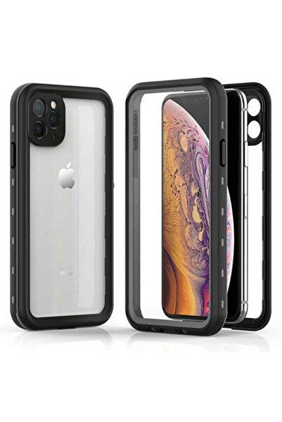 cepsesuar Apple Iphone 11 Pro Max Kılıf 1-1 Su Toz Yağmur Geçirmez 360 Kapak