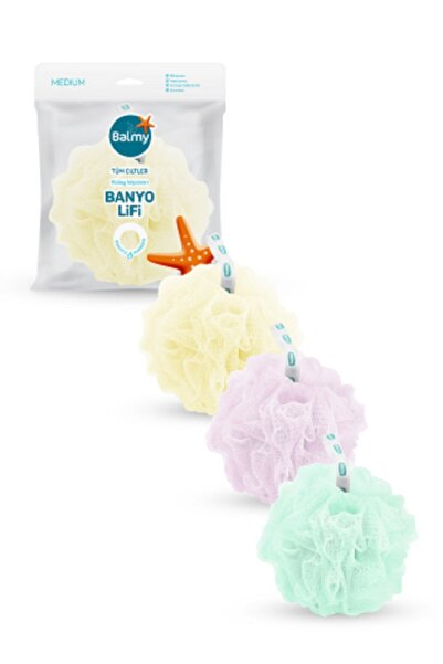 Balmy Banyo Lifi 3'lü Medium