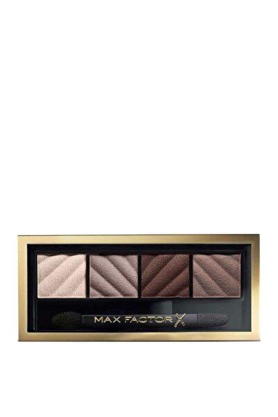 Max Factor Smokey Eye Matte Kit 4'lü Far Paleti 30 Smokey Onyx