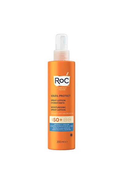 Roc Soleil Protect Spray Lotion Spf 50 200 Ml
