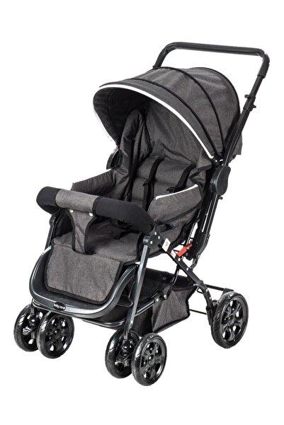 Baby Care Babycare Bc-75 Micra Çift Yönlü Bebek Arabası Siyah ( S )
