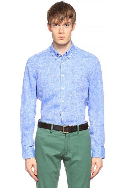 Hackett Erkek Mavi Gömlek