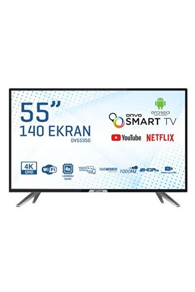 """ONVO OV55350 55"""" 139 Ekran Uydu Alıcılı 4K Ultra HD  Smart LED TV"""