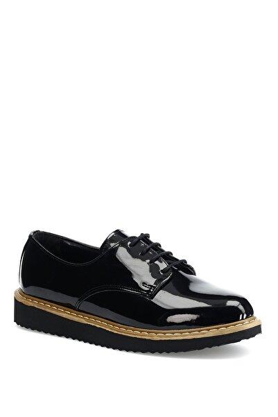 Miss F Siyah Kadın Oxford Ayakkabı N1622-19k 1pr
