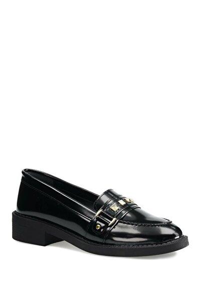 Butigo 21k-204 1pr Siyah Kadın Loafer Ayakkabı