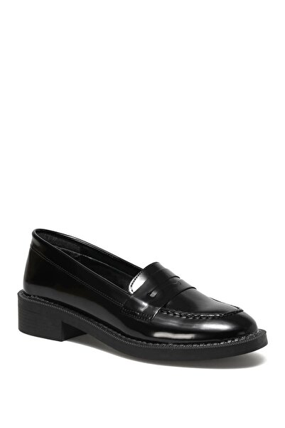 Butigo 21k-312 1pr Siyah Kadın Loafer Ayakkabı