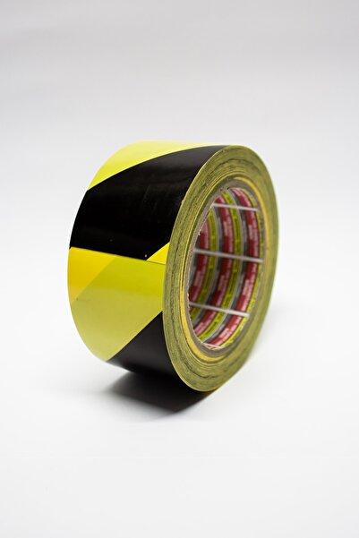 Starline Yer Işaretleme Bandı Siyah - Sarı 50mmx15mt