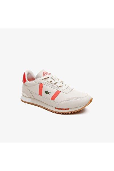 Lacoste Partner Retro 0721 1 Sfa Kadın Beyaz Sneaker