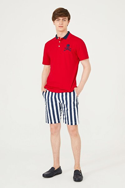 PHILIPP PLEIN Erkek Beyaz Polo Yaka T-shirt
