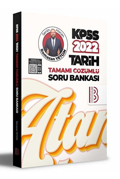 Benim Hocam Yayınları Benim Hocam 2022 Kpss Tarih Soru Bankası Çözümlü - Ramazan Yetgin