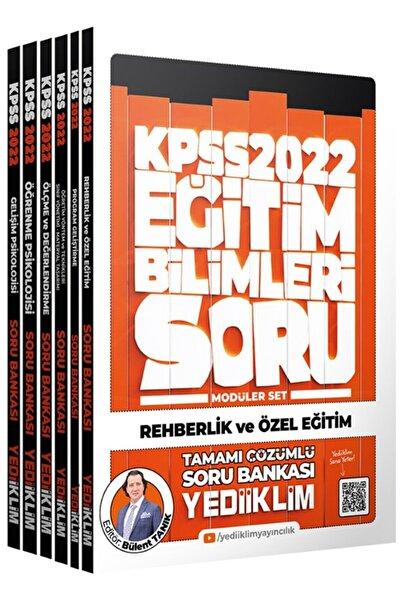 Yediiklim Yayınları 2022 Kpss Eğitim Bilimleri Tamamı Çözümlü Soru Bankası Modüler Set