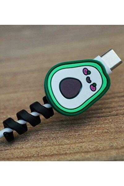 Deilmi Figürlü Spiralli Sevimli Kablo Koruyucu Aparat