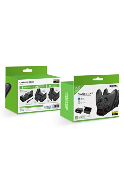 Feza Xbox One-series S/x Joystick 2xbatarya Ve Şarj Standı -ekra...