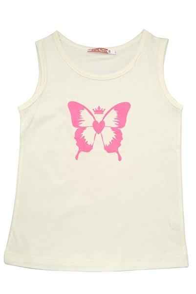 moto angela Kız Çocuk Atlet Bebek Atlet Penye Pamuklu Ter Emici Tişört