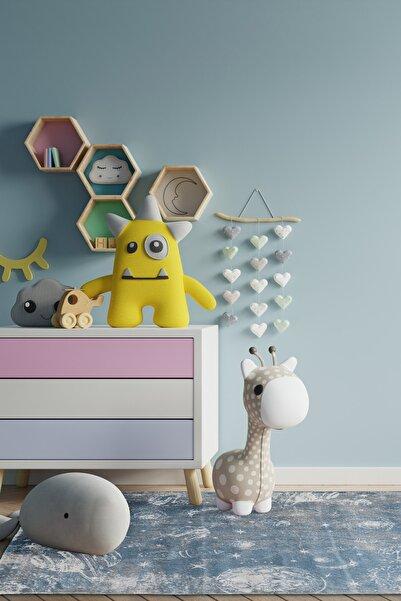 Love Halı Hello Kids Kolay Temizlenen Hav Toz Vermez Dayanıklı Antibakteriyel Bebek Ve Çocuk Odası Halısı