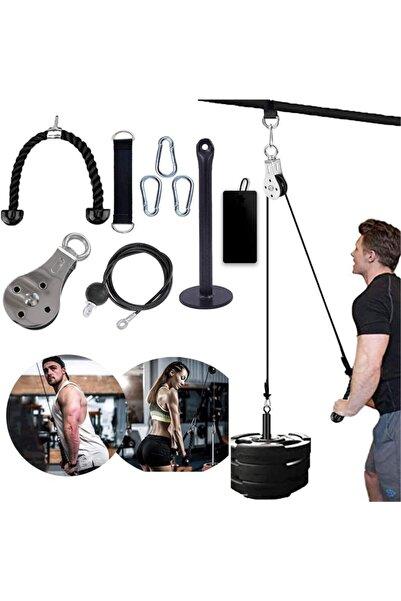 EXsports Fitness Kasnak Kablo Sistemi - [[evde, Salonda, Tatilde, Seyahatte Kullanıma Uygun]]