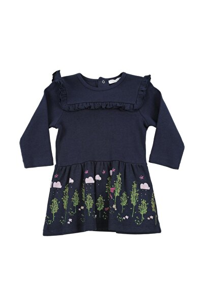 moto angela Kız Bebek Elbise Çocuk Elbisesi Pamuklu ( 0-4 Yaş ) Nt25