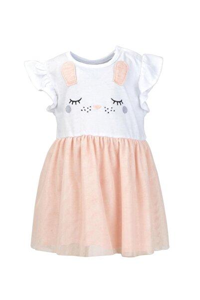 moto angela Kız Bebek Elbise Çocuk Elbisesi Pamuklu ( 0-4 Yaş ) Nt16