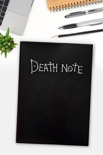 Carpe Death Note Deri Kaplı Defter