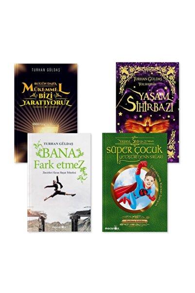 Macaron Yayınları Zen Turhan Güldaş Kitapları Seti (yaşam Sihirbazı-bana Fark Etmez-süper Çocuk Yetiştirmenin Sırları-
