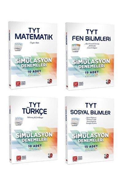 Çözüm Yayınları Çözüm Tyt 3d Matematik Fen Türkçe Sosyal Simülasyon Deneme Seti 4 Kitap