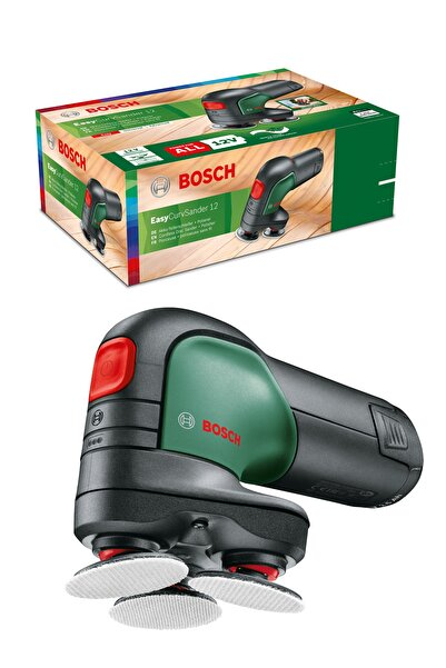 Bosch Easycurvsander 12 Oynar Başlıklı Akülü Disk Zımpara Ve Polisaj Makinesi