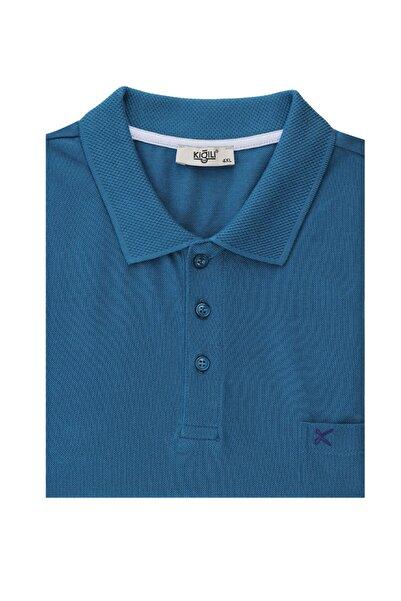 Kiğılı Büyük Beden Polo Yaka Tişört
