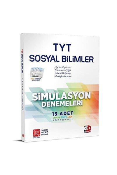 Çözüm Yayınları 3d Tyt Sosyal Bilimler 15'li Simülasyon Denemeleri Tamamı Video Çözümlü