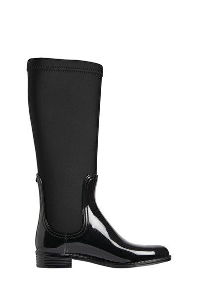 Tommy Hilfiger Fw0fw05964bds Siyah Kadın Yağmur Çizmesi