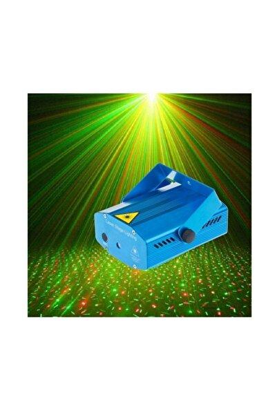 EN SİGA Lazer Damla Nokta Desenli Kırmızı Yeşil Ambians Lazer Işık