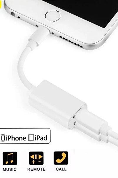 ucuzmi Iphone 13 12 11 X 8 7 Plus Ipad Lightning Uyumlu Kulaklık Şarj Çevirici Dönüştürücü Çoğaltıcı Kablo