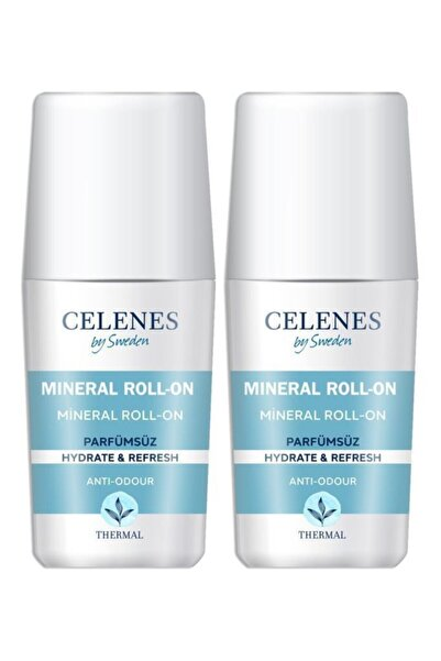 Celenes by Sweden Celenes Thermal Roll On Hassas Cilt, Parfümsüz 75 Ml X2