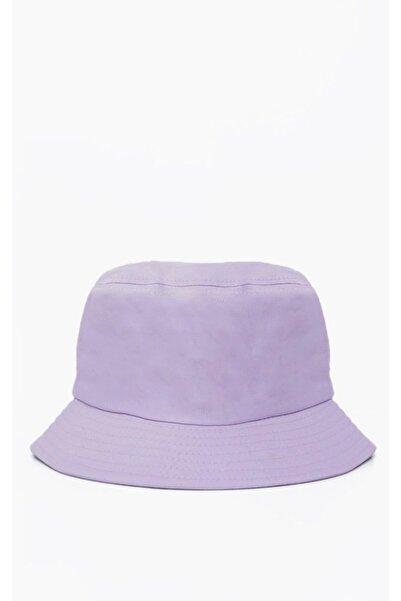 Mozto Lila Bucket Şapka