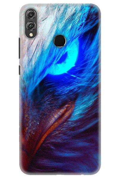 DNZ Bilişim Huawei Honor 8x Kılıf Hd Baskılı Kılıf - Eagle Eye