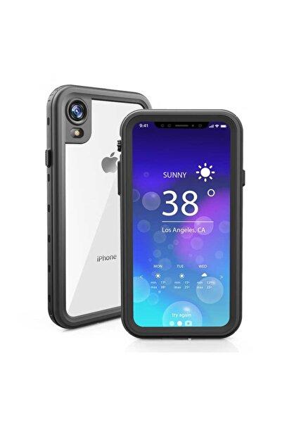 cepsesuar Apple Iphone Xr Kılıf 1-1 Su Toz Yağmur Geçirmez 360 Kapak