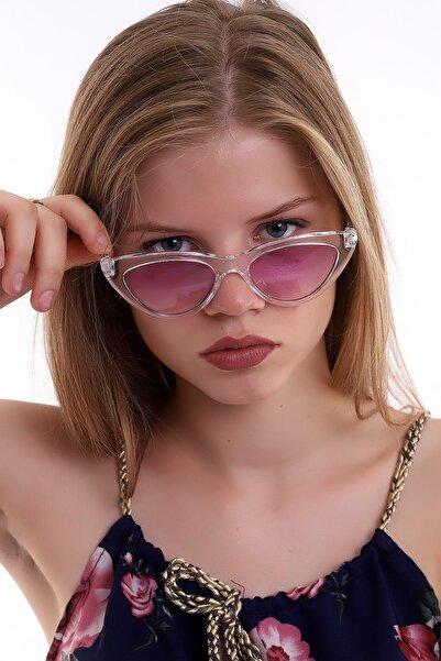 Della Pianto Cat Eye Klasik Pink Güneş Gözlüğü