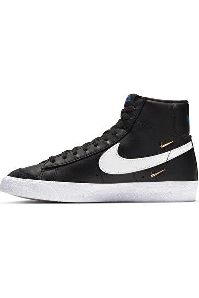 Nike Blazer Mid '77 Se Kadın Spor Ayakkabı - Siyah