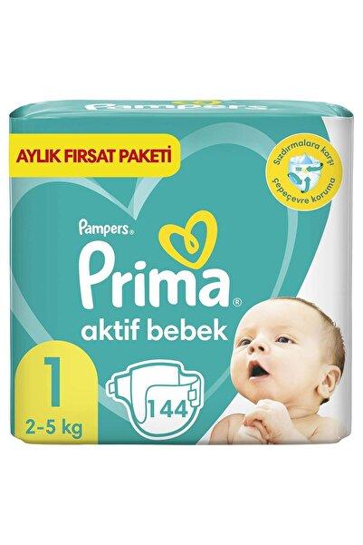 Prima Aktif Bebek 1 Beden 144'lü Aylık Fırsat Paketi