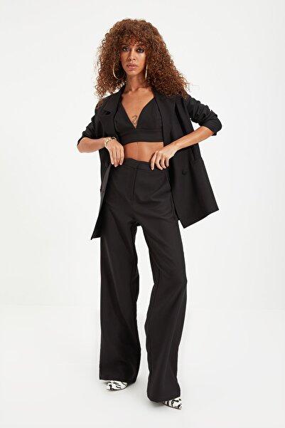 TRENDYOLMİLLA Siyah Pantolon TPRAW22PL0402