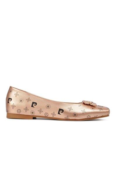 Pierre Cardin Kadın Babet Ayakkabı Bronz